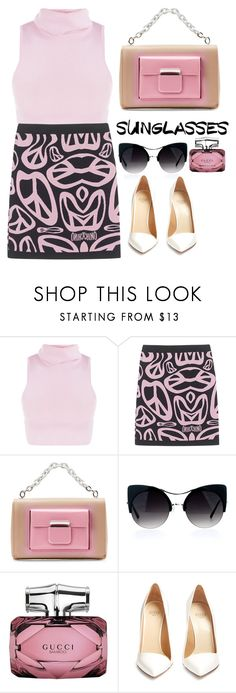 """""""Style icon! 👑"""" by tahmazovarzu ❤ liked on Polyvore featuring Moschino, Balenciaga, Gucci and Francesco Russo"""