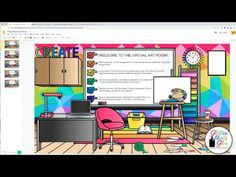 classroom virtual bitmoji google learning class craze setting history teachers fun