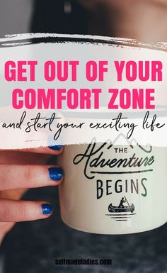 Get out of your comfort zone and finally live your dream life! It's so important to leave your comfort zone, or what I call the fear zone. Learn in this post how you can do this. Comfort Zone Quotes, Success Mindset, Career Success, Growth Mindset, How To Start Meditating, Just Deal With It, Self Development, Personal Development, Law Of Attraction Tips