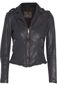 leather muubaa jacket