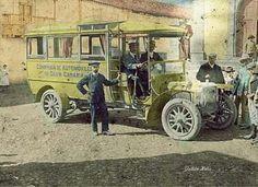 TRANSPORTE PUBLICO 1913 Canario, Antique Cars, Antiques, Vintage Photography, Pegasus, Las Palmas, Canary Islands, Antique Photos, Transportation