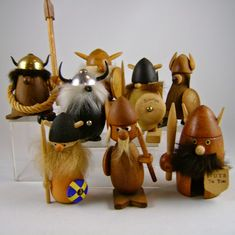 moderncraze: Danish Modern Sandinavian Wood Vikings...on guard!...
