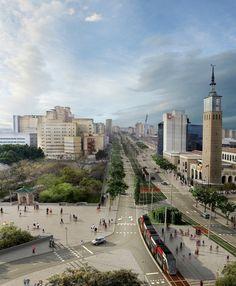 Alday Jover | Proyecto de integración urbana del Tranvía de Zaragoza