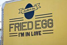Hangover Helper: Egg Zeppelin at Fried Egg I'm in Love in Portland, OR Hangover Helpers, Truck Names, Mobile Food Trucks, Zeppelin, Im In Love, Dream Catchers, Drinks, Portland, City