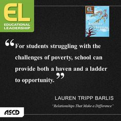 The school is a ladder to opportunity for students.