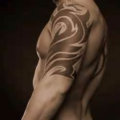 Tatuaggi Tribali Spalla