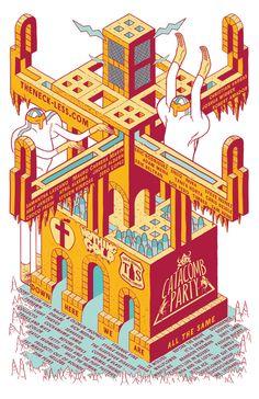 Eric Rodriguez : Gig Poster