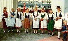 Finnish national costume - my brother and I sang in a Finnish choir for a few summers.