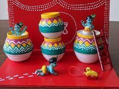 Diy For Kids, Crafts For Kids, Arts And Crafts, Paper Crafts, Little Krishna, Baby Krishna, Krishna Painting, Krishna Art, Krishna Leela