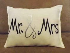Our Mr. & Mrs. Pillow has heat transfer vinyl on it. If you have questions, contact me at mkfcox@casscomm.com