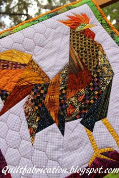 Fred, the Fugitive pattern at:  http://annshawquilting.com/?page_id=1382