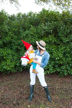 Garden Gnome Costume-One Little Minute Blog 7 More
