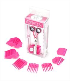 Scaredy Cut Silent Pet Grooming Kit For Cats and Dogs Quiet Alternative to Electric Clippers For Sensitive Pets RightHanded Pink >>> For more information, visit image link. (This is an affiliate link) Dog Grooming Supplies, Grooming Kit, Dog Supplies, Grooming Salon, Grooming Dogs, Large Dogs, Small Dogs, Safari Nails, Yorkie Haircuts