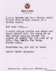 Typewriter Series #262 by Tyler Knott Gregson. In love with his typewriter love poems.