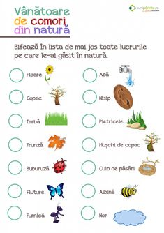 Vanatoare de comori pentru copii Autumn Activities For Kids, Educational Activities For Kids, Preschool Learning, Kindergarten Activities, Toddler Activities, Chores For Kids, Math For Kids, Visual Perceptual Activities, Kids Poems