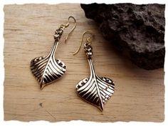 Earrings Viking Longship