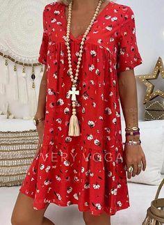 Elegant V Neck Short Sleeve Pleated Splicing Bare Back Dress – blinglikes Bare Back Dress, Dress Backs, Fall Dresses, Cute Dresses, Casual Dresses, Midi Dresses, Elegant Dresses, Plus Size Mini Dresses, Boho Mini Dress