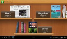 How To Use Readers Hub On Samsung Galaxy Tab 2 - P^i  Samsung Readers Hub is a one stop shop for books, magazines and newspapers from around the world on your Samsung Galaxy Tab 2.