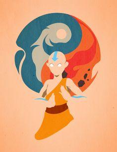 air, water, earth, fire. (Avatar The Last Air Bender)