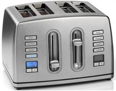 Cuisinart 4 Slice Toaster Professional Bar Restaurant Diner Breakfast Home Cook     Grab this Fantastic Novelty. Visit LUXURY HOME BRANDS and Grab this Opportunity Now!