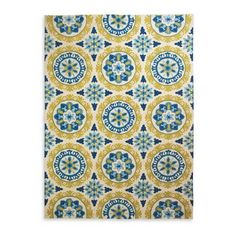 Love this rug!  Great colors and pattern - perfect for the back patio.  Suzani Outdoor Rug