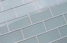 "3"" x 6"" Sample Piece - Ice Age Light Blue Green 3x6 Glass Subway Tiles Rocky Point Tile http://www.amazon.com/dp/B00LBFWUBK/ref=cm_sw_r_pi_dp_3UkVub1ZANQ8B"
