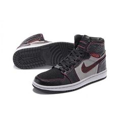 2016 collection air jordan 1 retro black purple red brooklyn zoo by pmk  customs outlet a2530f0512