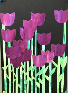 Classroom Art Projects, School Art Projects, Craft Projects For Kids, Art Classroom, Spring Arts And Crafts, Spring Art Projects, Ecole Art, Crafts For Seniors, Easter Art