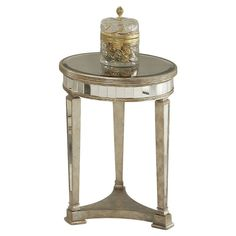 Borghese Accent Table - Luxe Living on Joss & Main