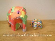 Make your own Elmer the Elephant