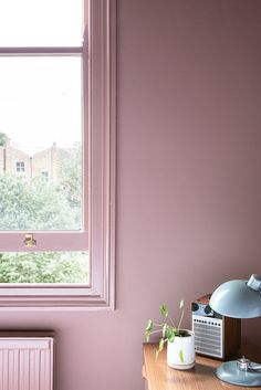 Frankie Graddon is sold on a statement-making hallway and soft-pink bedroom. Bathroom Wall Lights, Diy Bathroom Decor, Bedroom Decor, Bedroom Ideas, Girls Bedroom, Farrow And Ball Living Room, Farrow And Ball Paint, Modern Bedroom Furniture, Modern Bedroom Design