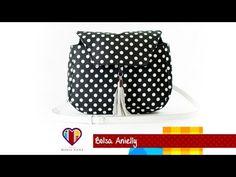 Bolsa de tecido passo a passo Anielly - Maria Adna Ateliê - Cursos e aulas de bolsas de tecido - YouTube