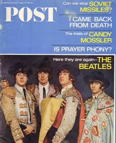 The Saturday Evening Post, Aug. 27 1966  — The Beatles