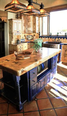 Beautiful kitchen inspired by the land of enchantment