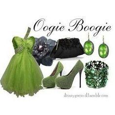 Boogie Man Disney Bound | Pinned by Luz Michelle Gonzalez