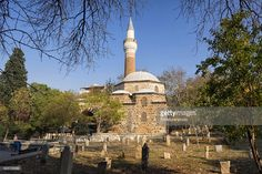 Ivaz Pasha mosque was built in 1484 in Manisa in Aegean Turkey.It is a fine example of early Ottoman architecture made from red bricks and mixed materials.It has been restroed a few times since then and is open to public.
