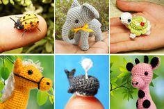 Miniature Crochet: i micro animaletti all'uncinetto di Su Ami