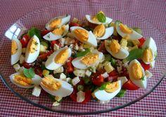 kahvaltı salatası Breakfast Salad, Breakfast Recipes, Turkish Breakfast, Caprese Salad, Potato Salad, Catering, Sushi, Side Dishes, Brunch