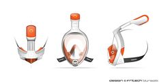 Tribord - Easybreath by fritsch - durisotti, via Behance