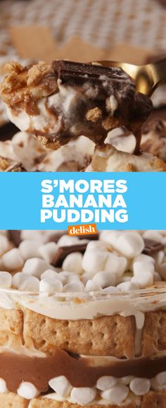 S'mores Banana PuddingDelish