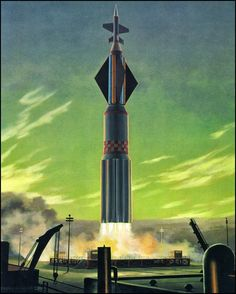 The Beautiful Art That Helped Inspire Space Travel - Chesley Bonestell The Stars My Destination, Psychedelic Space, Retro Rocket, Classic Sci Fi, Vintage Space, Science Fiction Art, Space Travel, Space Exploration, Space Crafts