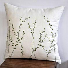 Kissenbezug Kissenhülle Fluffy 45x45 olive Polyester Dutch Decor