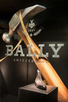 Bally, Sculpted Window Display | Made To Order, Harrods by Millington Associates