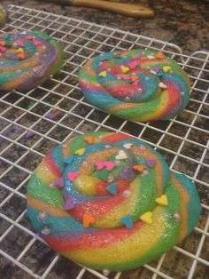 How to Make Rainbow Unicorn Poop - ahaha too funny! would be good to make with/for kids!