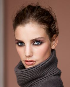 clarins autumn 2015 model look