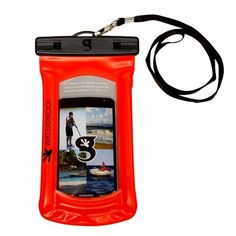 Geckobrands Waterproof Float Phone Case - Bright Orange