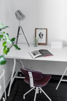 Home Office, Office Desk, Drafting Desk, Workplace, My House, Furniture, Photos, Design, Home Decor