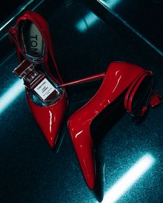 772a875a47 Start the new year in sensuous ruby red Lacquered Patent Padlock Pumps and  the insatiable Lost. Tom Ford Online Store