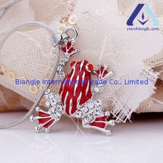Alloy Jewelry Supplier Personalized Frog Pendant Short BPD4697 from http://www.yiwubiangle.com