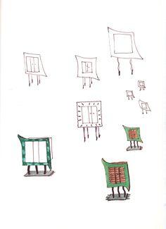 44 - Skizzen Schränkchen